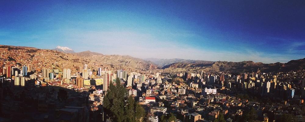 Panorama v La Paz